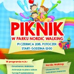 Piknik w Parku Nordic Walking