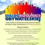 """Rekrutacja do projektu pn. """"Dialog Współpracy Obywatelskiej"""" zakończona!"""