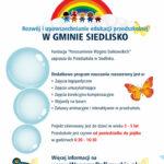"""Rekrutacja do projektu """"Rozwój i upowszechnianie edukacji przedszkolnej w Gminie Siedlisko"""""""