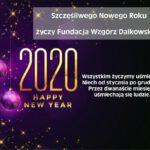 Najlepsze życzenia z okazji Nowego Roku 2020